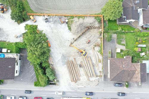 Neubau Gewerbebau, Schaan (Hochbau)